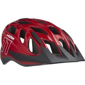 Lazer J1 Helmet Juniors red net